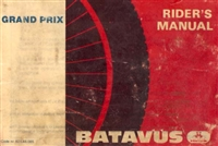 Free Batavus Grand Prix Moped Owners Manual