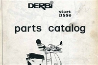 Derbi DS50 Spare Parts Catalog