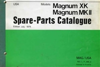 Free Puch Magnum Moped Spare Parts Catalog Manual