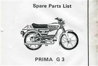 Free Sachs G3 Moped Spare Parts Catalog Manual