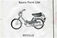 Free Sachs Seville Moped Spare Parts Catalog Manual
