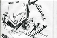 free moped repair manuals, catalogs, diagrams and advertisements Small Engine Diagram