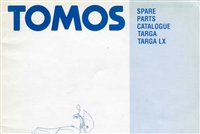 Free Tomos Targa Moped Spare Parts Catalog Manual