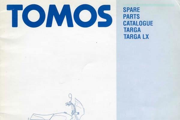 free tomos targa moped spare parts catalog manual. Black Bedroom Furniture Sets. Home Design Ideas