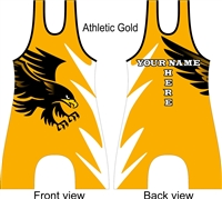 Eagle hawk raven bird of prey singlet in several colors