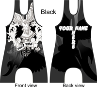 Eagle Hawk singlet in several colors add name