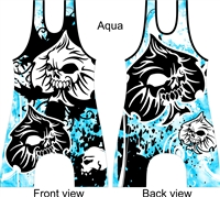 Spade symbol wrestling or lifting singlet