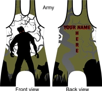 dead walking zombie singlet in many colors