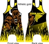 Buffalo mascot singlet in many colors