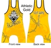 Sublimated wrestling or lifting singlet many colors Razorback mascot