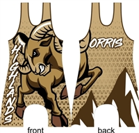 Highlands Ram Youth singlet
