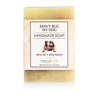 Don't Bug My Dog Olive Oil and Shea Butter Soap
