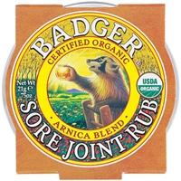 Badger Sore Joint Rub - Small .75oz