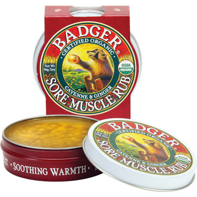 Badger Sore Muscle Rub - Large 2oz