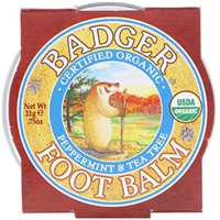 Badger Foot Balm - Small .75oz