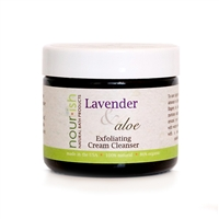 Lavender & Aloe Exfoliating Cream Cleanser