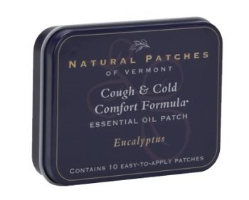 Eucalyptus Soothing Cough and Cold Essential Oil Patches