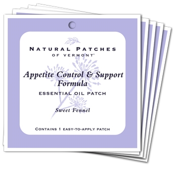 Sweet Fennel Appetite Control and Support Essential Oil Patch - 5 Ct. Bundle