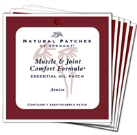 Arnica Muscle & Joint Comfort Essential Oil Patch - 5 Ct. Bundle