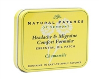 Chamomile Soothing Headache & Migraine Essential Oil Patches