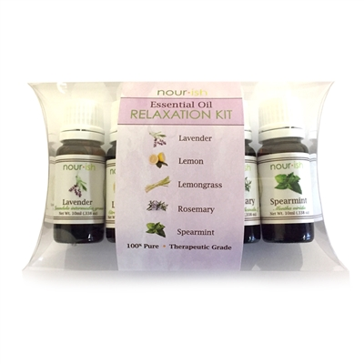Relaxation Essential Oil Kit