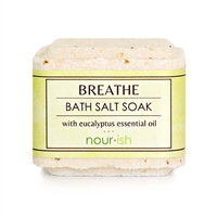 Breathe Lemon Eucalyptus Bath Salt Soak