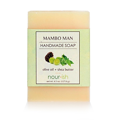 Mambo Man Olive Oil and Shea Butter Soap