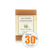 Nag Champa Olive Oil and Shea Butter Soap