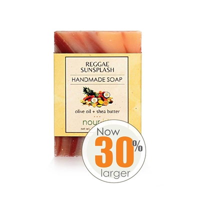 Raggae Sunsplash Olive Oil and Shea Butter Soap