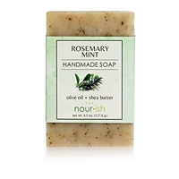 Rosemary Mint Olive Oil and Shea Butter Soap