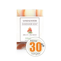 Sandalwood Olive Oil and Shea Butter Soap