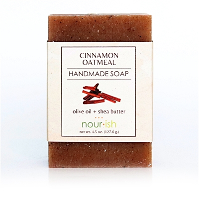 Cinnamon & Oat Olive Oil and Shea Butter Soap
