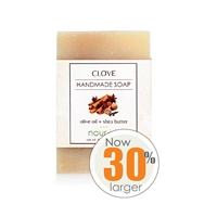 Clove Olive Oil and Shea Butter Soap