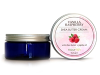 Vanilla Raspberry Shea Butter Cream