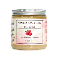 Vanilla Raspberry Large Salt Scrub