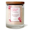 White Tea Ginger Glass Soy Candle