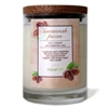 Savannah Pecan Glass Soy Candle
