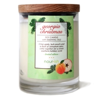 Limited Edition Georgia Christmas Large Soy Candle