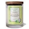 Coconut Lime Glass Soy Candle