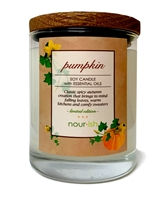Pumpkin Large Soy Candle- SOLD OUT FOR THE SEASON
