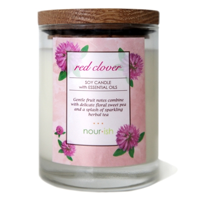 Red Clover Tea Large Soy Candle