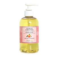 Georgia Christmas Liquid Soap