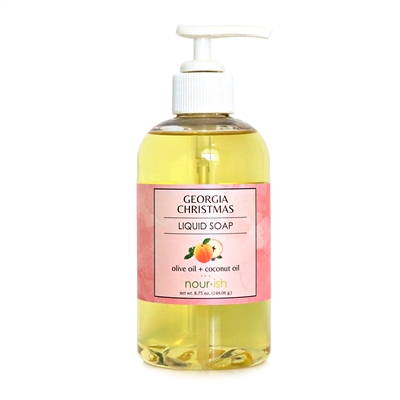 Georgia Christmas Liquid Soap - SOLD OUT