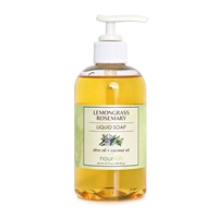 Lemongrass & Rosemary Liquid Soap
