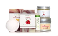 Vanilla Raspberry Small Gift Set