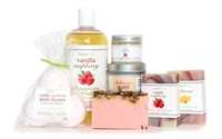 Vanilla Raspberry Medium Gift Set