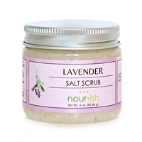 Lavender Small Salt Scrub