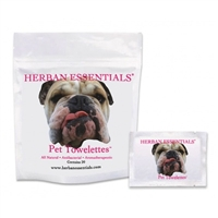 Pet Herban Essentials Towellettes