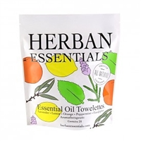 Mixed Herban Essentials Towellettes
