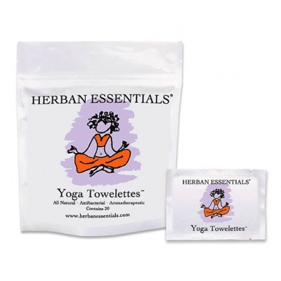 Yoga Herban Essentials Towelettes